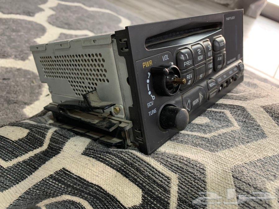 جهاز راديو لسيارات شفروليه سوبرمان 2001