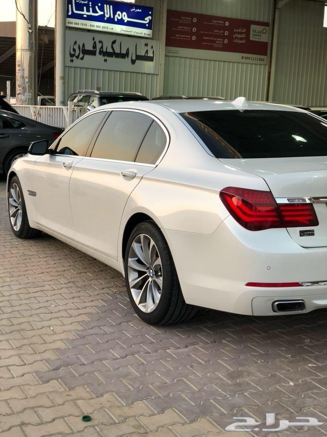 بي ام دبليو BMW 740 Li فل كامل 2015