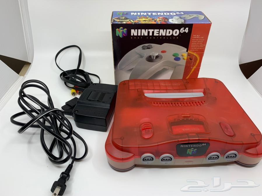 جهاز ألعاب نيتندوا 64 Nintendo 64(تم البيع)