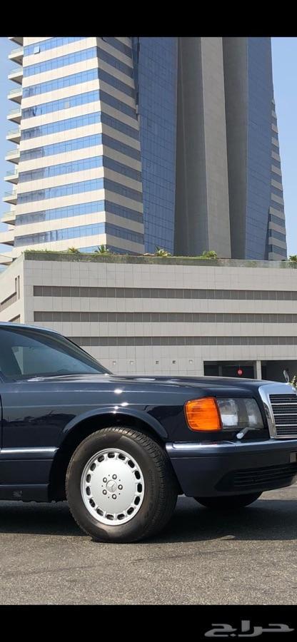 مرسيديس 560 موديل 1989