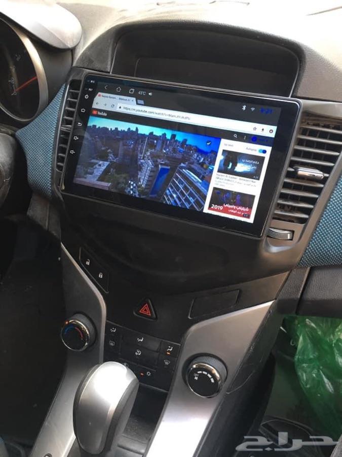 شاشات اندرويد 8.10 لجميع السيارات