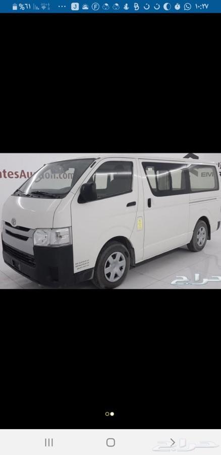باص للتوصيل مع السائق في جدة وضواحيها