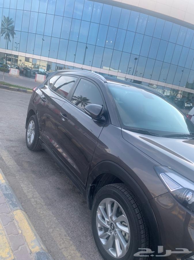 الرياض - توسان 2018 اللون بني