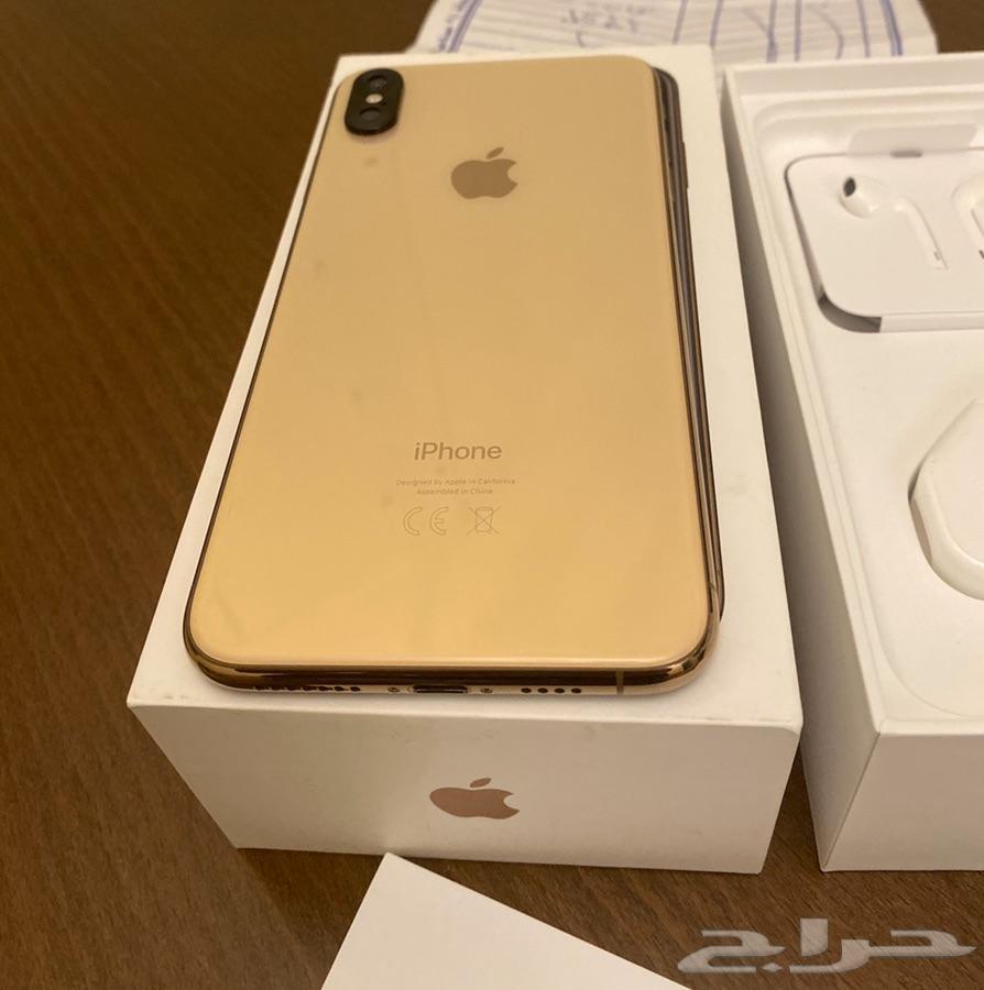 ايفون اكس اس ماكس 512 gold