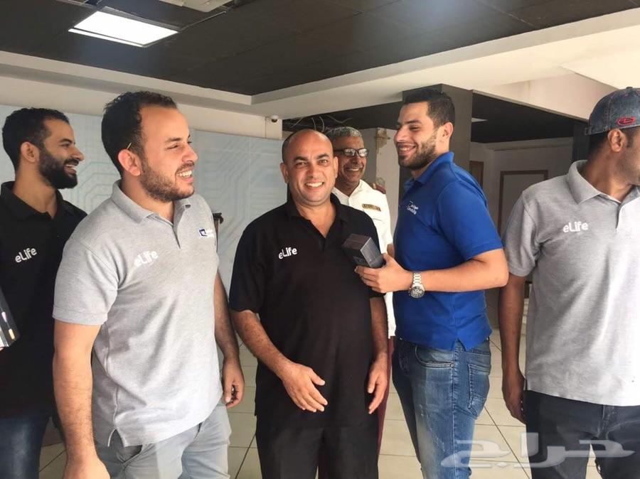 الياف بصريه موبايلي في جده