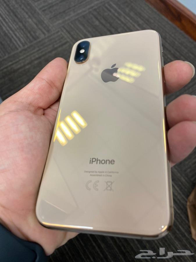 للبيع ايفون اكس اس ذهبي 256