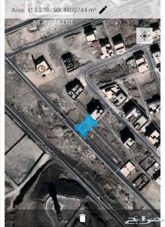 ارض تجاري سكني على شارع 80 م ومساحة 600 م2