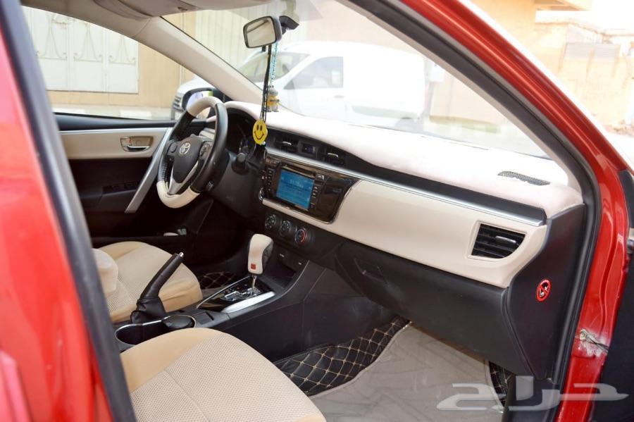 سيارة تويوتا كورولا موديل 2016 للبيع
