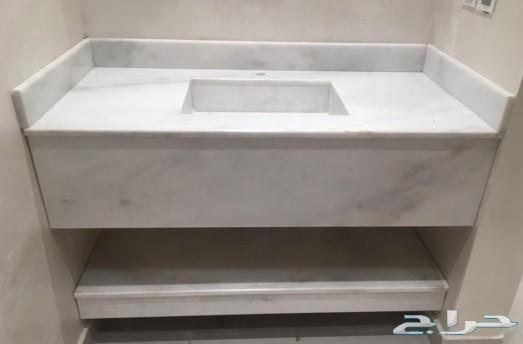 مغاسل رخامية ديكور مغاسل رخام طبيعي وصناعي