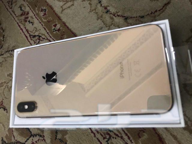 جديد ايفون اكس اس ماكس 265 جيجا لون جولد بريط