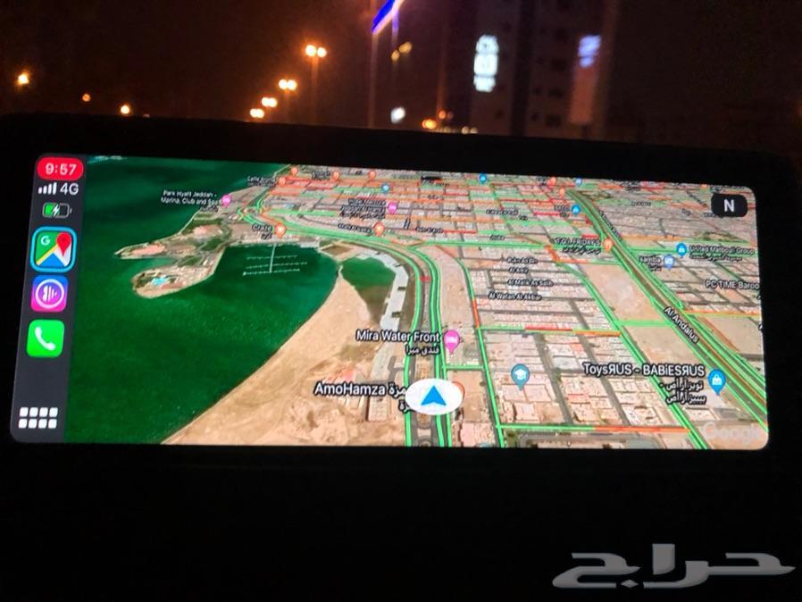 برمجة جميع مميزات CarPlay BMW خرائط 2020