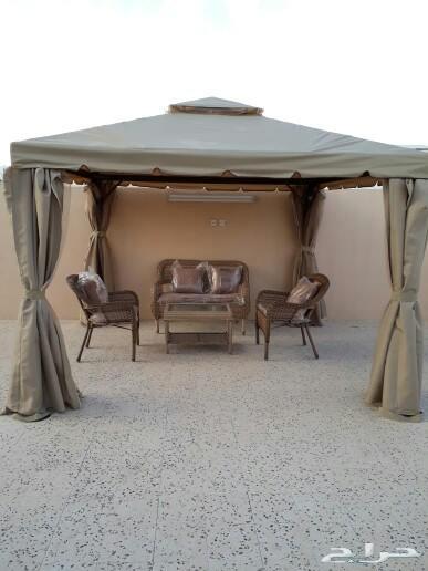 جلسات خارجية وخيم ومراجيح