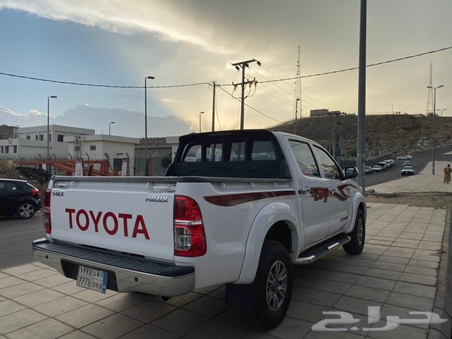 هايلكس دبل 2014 سعودي تماتيك
