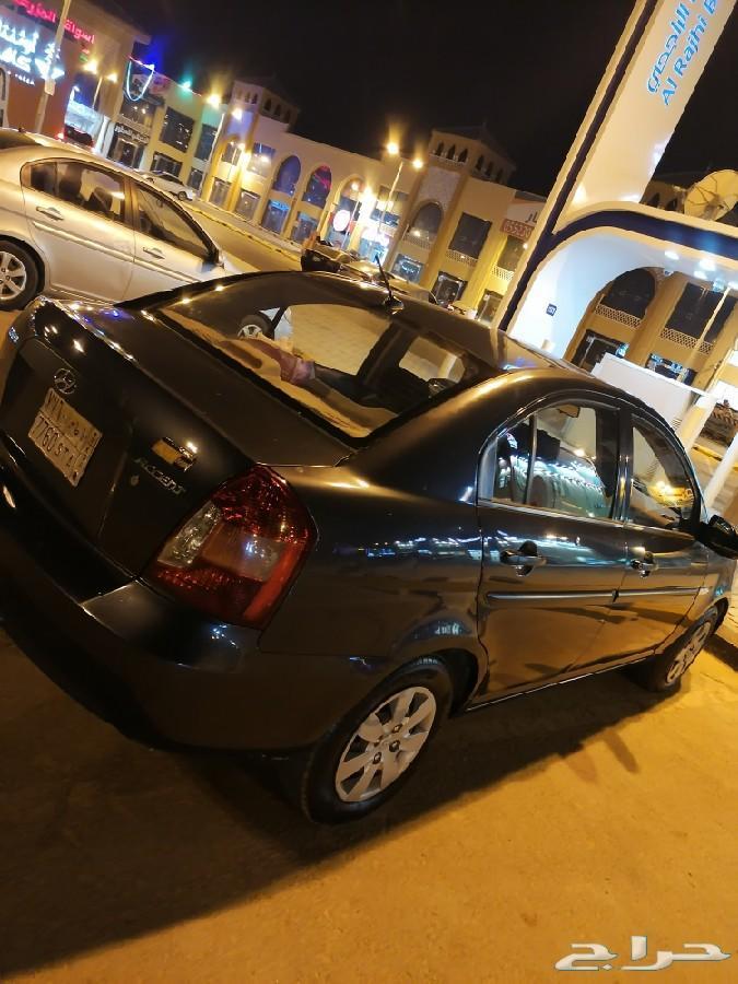 الرياض - اكسنت 2009 نظيفه مره