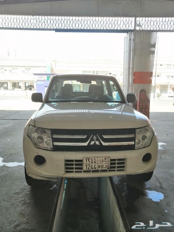 باجيرو ربع 2014 للبيع دبل