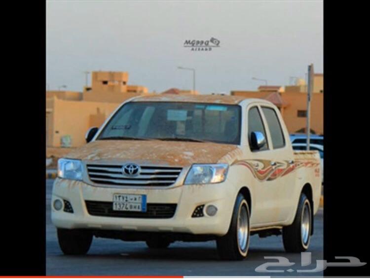 اهل الخبره  هايلكس 2013احد يفيدني