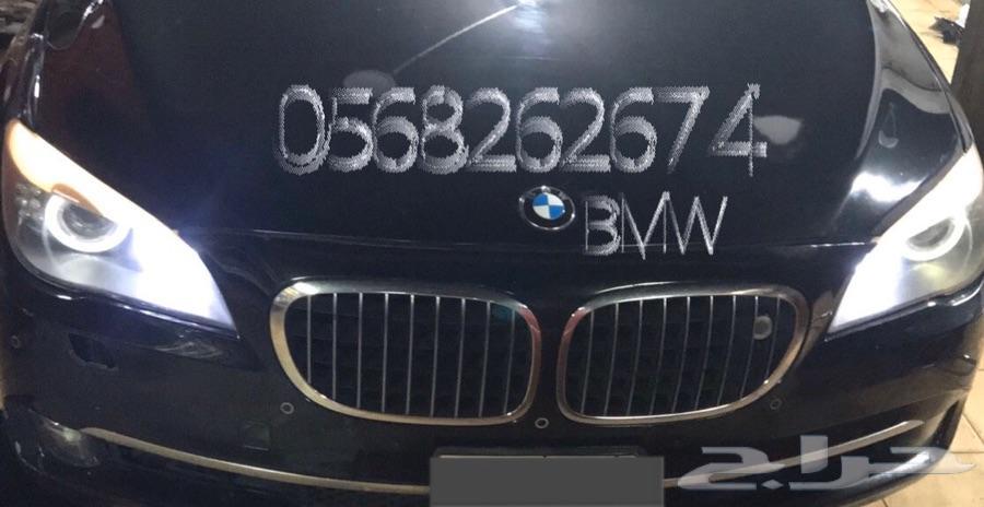 تغير لون الحلقات BMW
