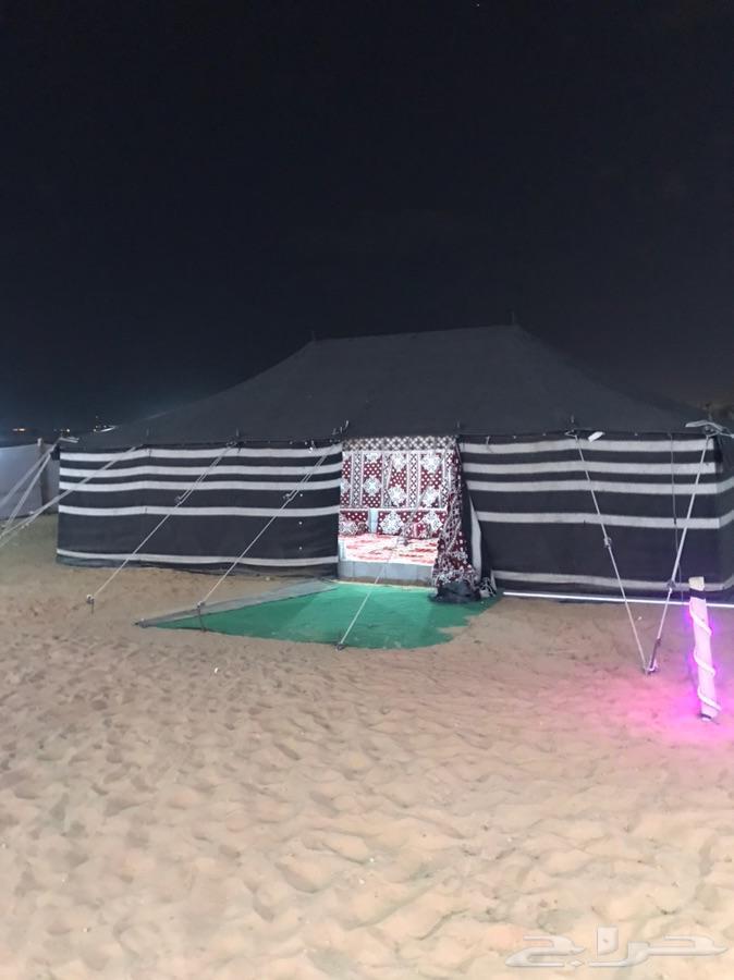 المخيم الايجار قسمين ديور العويضه