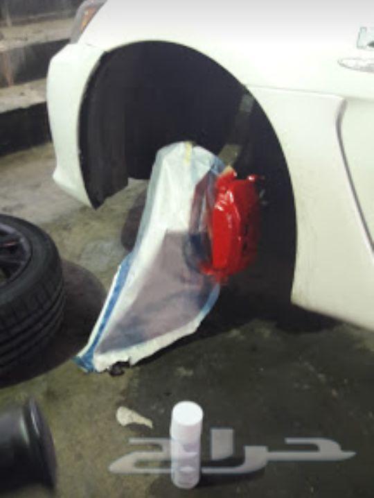رش مطفي ورش جنوط وتجليد سيارات ورش داخلي