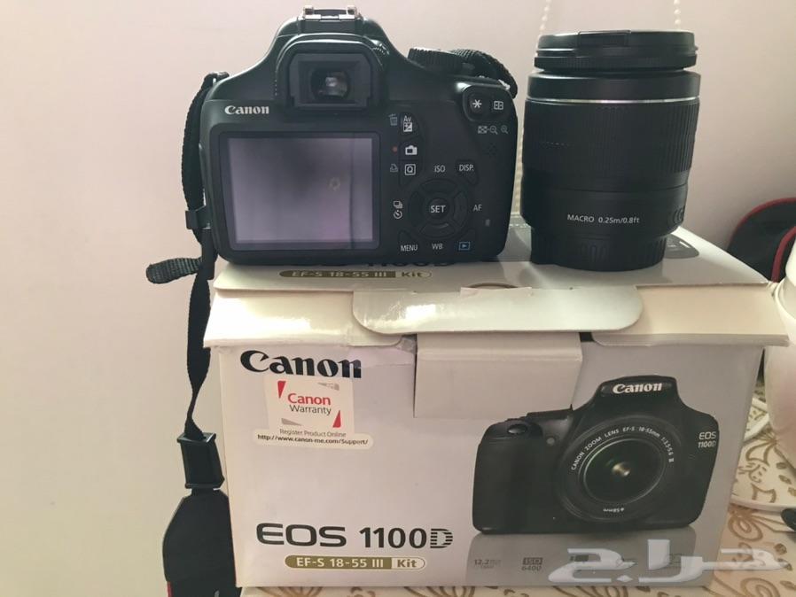 كاميرا كانون للبيع D1100