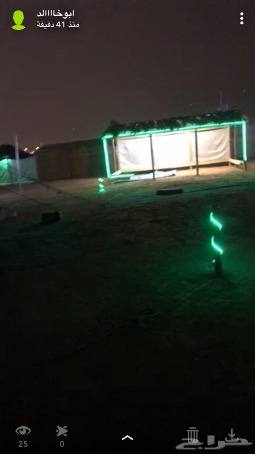 مخيم الايجار ديور العويضه قسمين