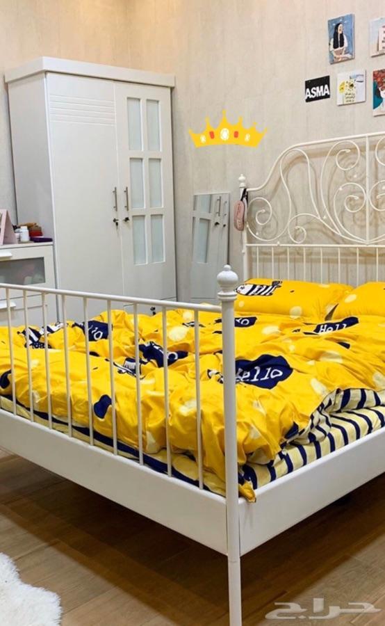 سرير ايكيا مع المرتبه