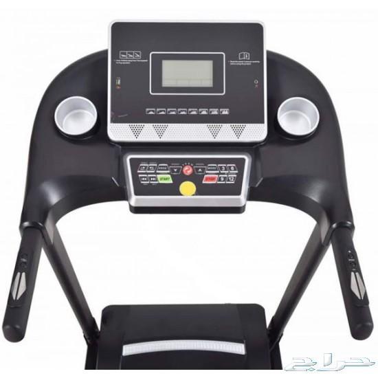 جهاز سير كهربائي مع مساج وعقله لتمارين البطن