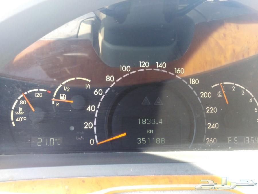 مرسيدس s500 2003