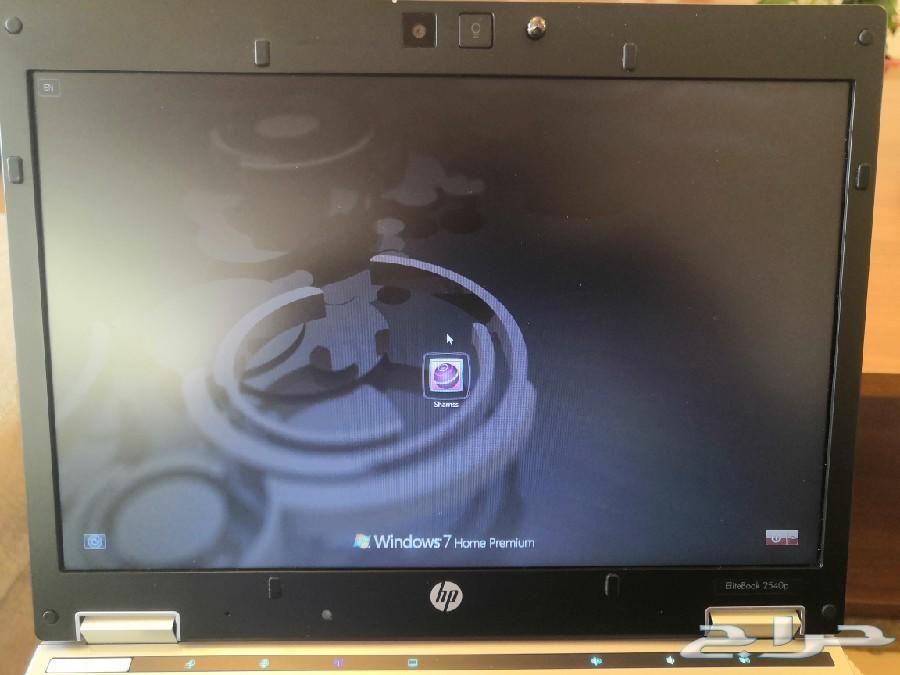 لابتوب إتش بي i7  بحالة اكثر من ممتازة