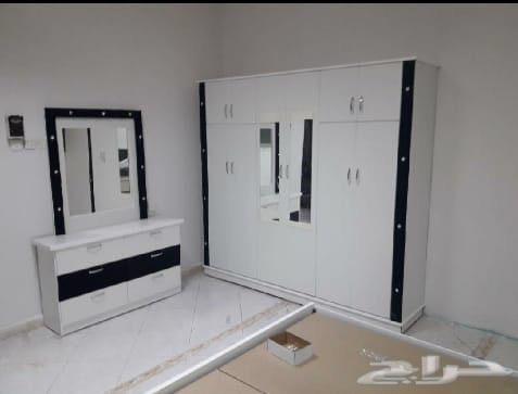 غرف نوم 6 قطع وطني جديد ب1800ريال