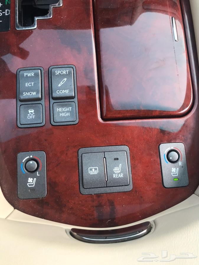 ليكزس LS 460 موديل 2010 بطاقة جمركية