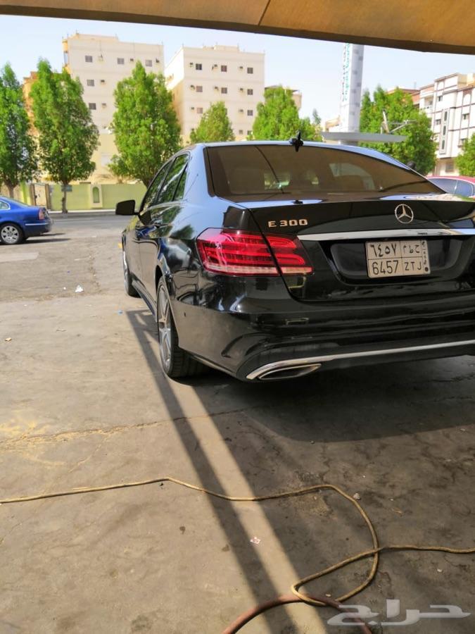مرسيدس E300 موديل 2014 نظيف