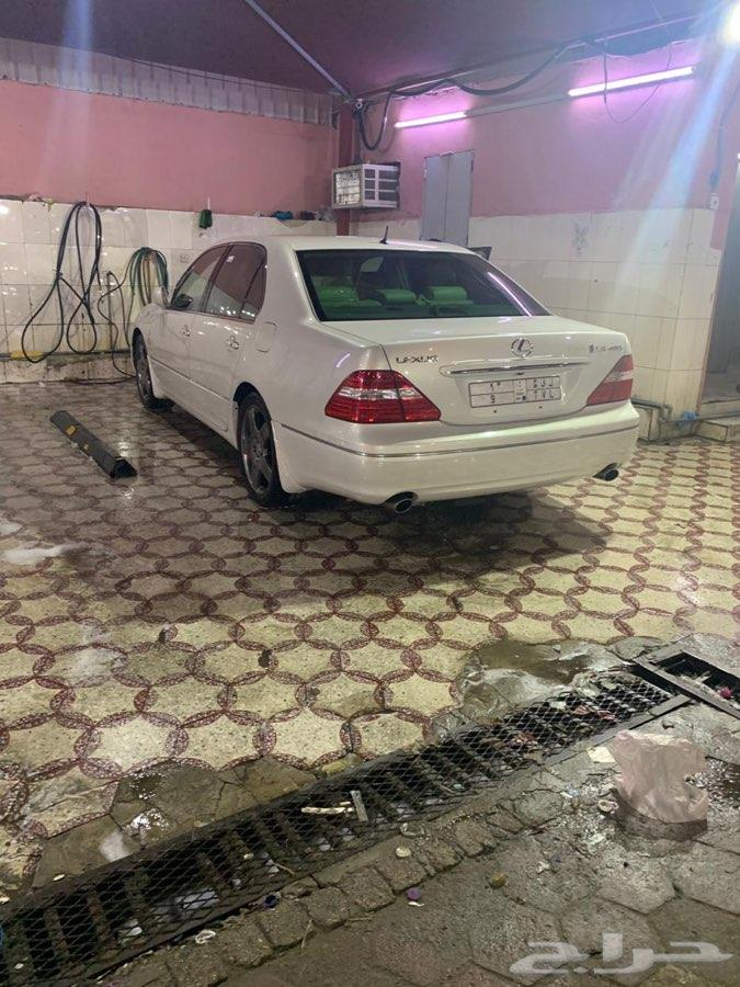 لكزس 430 ابيض لولي سعودي