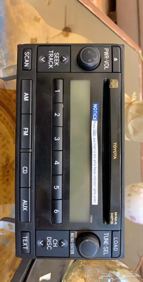 مسجل cd سيارة برادو 2013