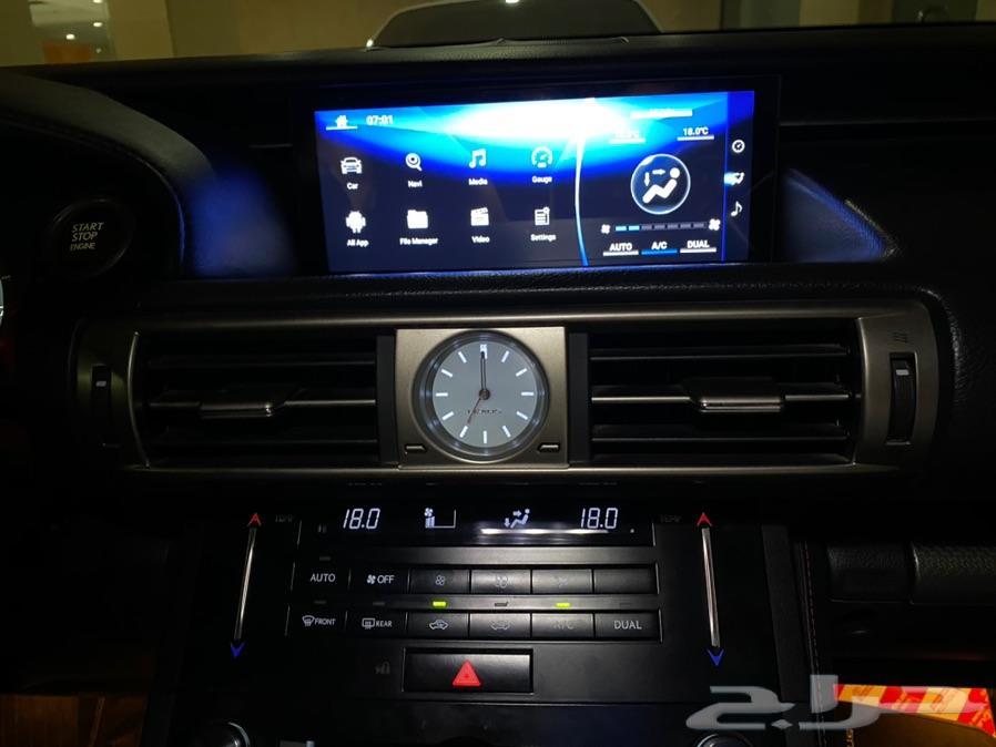 شاشه is350 نظام اندرويد 10.5 انش