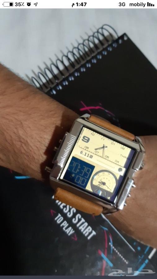 ساعة يد رجاليه رياضيه