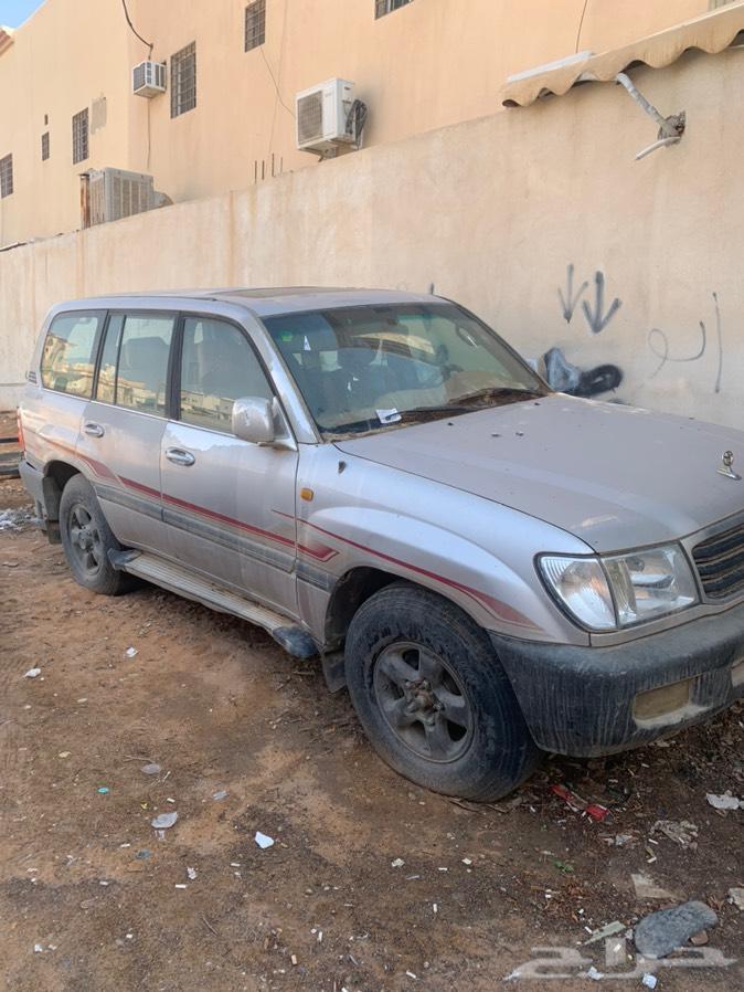 الرياض - جيب GXR موديل 2002 فتحة
