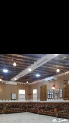 نعمل بيوت تراثيه قديمه واسقف خشب وجريد
