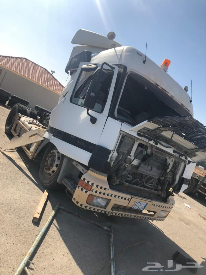 الرياض - شاحنه اكتروس مرسيدس
