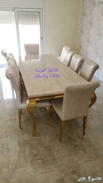 طاولات طعام احدث تصميم