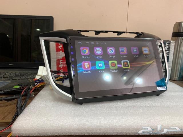 شاشة كريتا اندرويد اصدار 9.1.1 ايباد CarPlay