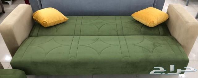 طقم كنب كلاسيك يصبح سرير صناعة تركية