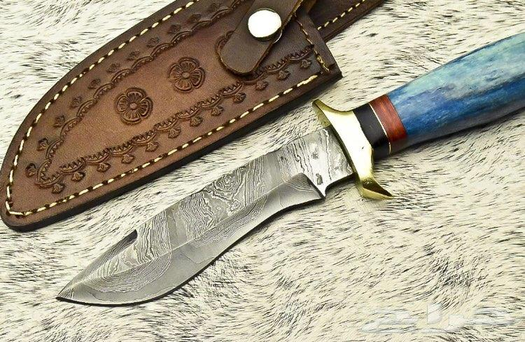 سكين صيد جبره لعشاق التميز حديد دمشقي