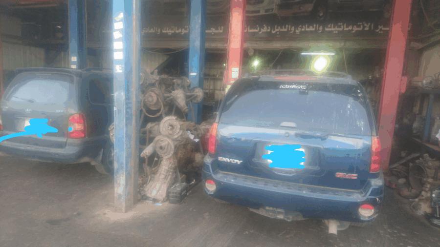 ورشة لصيانة وتوضيب القيرات الاتوماتيك (الرياض