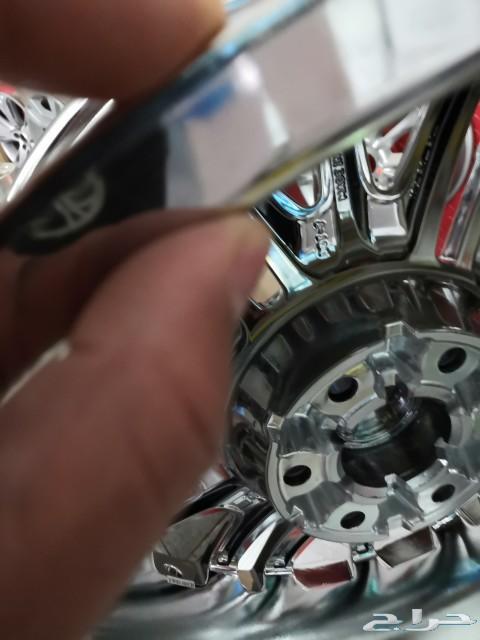 جنوط GMC جمس سييرا 2020 فل نيكل مقاس 20