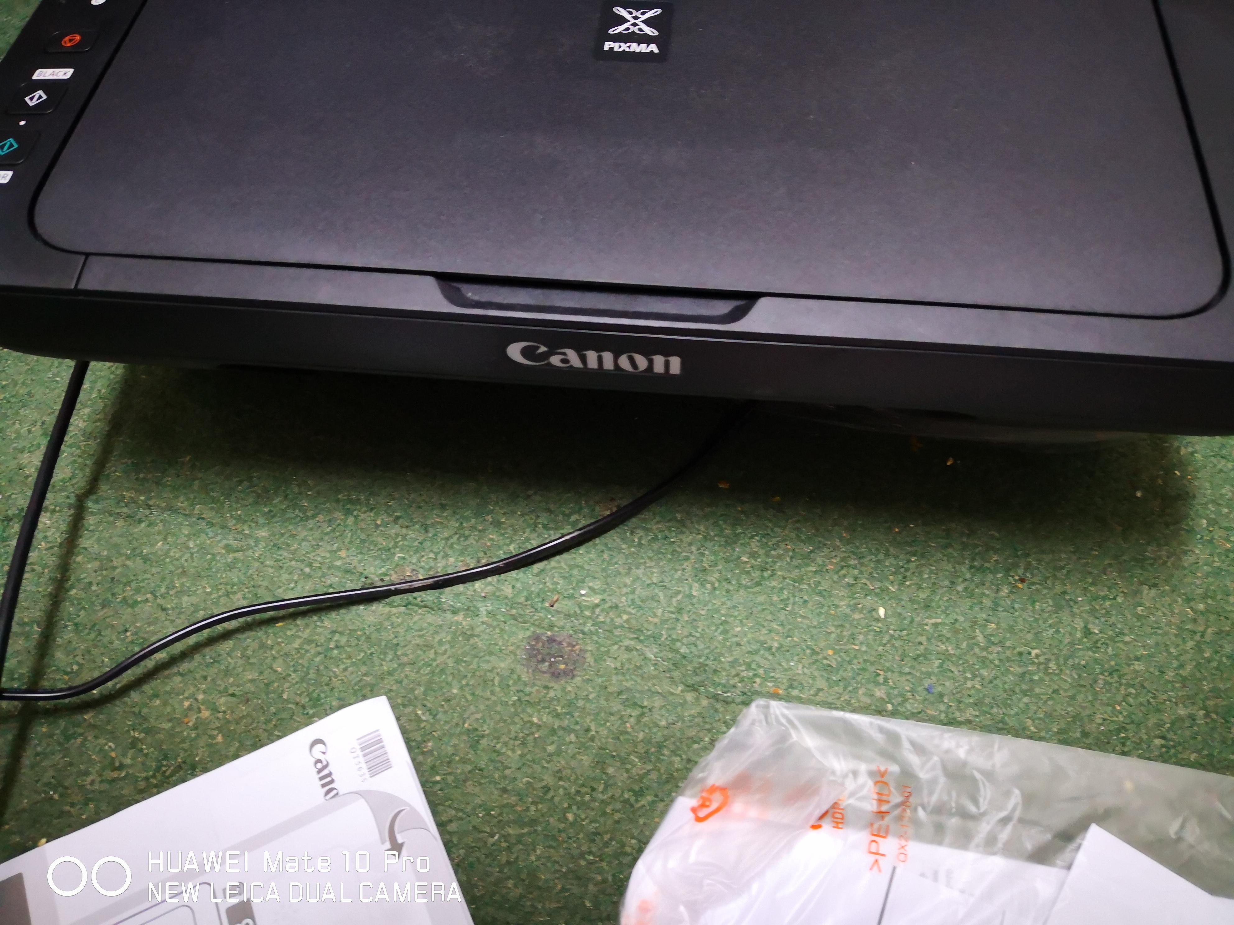 طابعة كانون جديدة بالضمان Canon printer