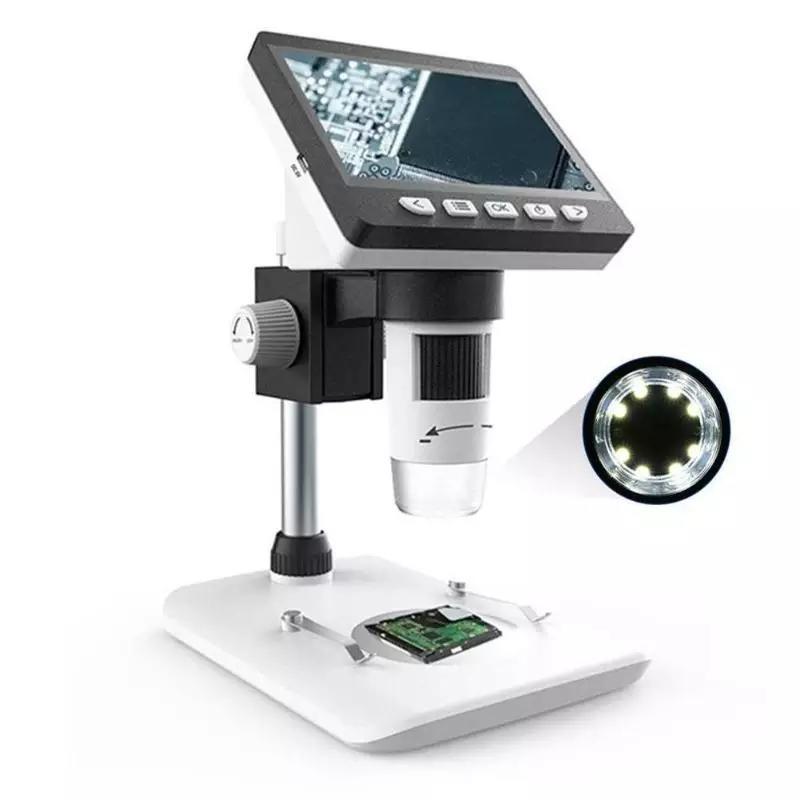 المجهر الرقمي بشاشةLCD عالي الوضوح