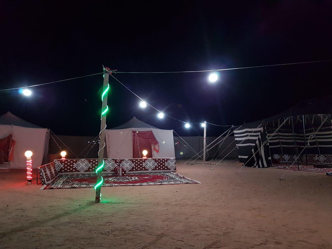 مخيم قسم للايجار روضة خريم