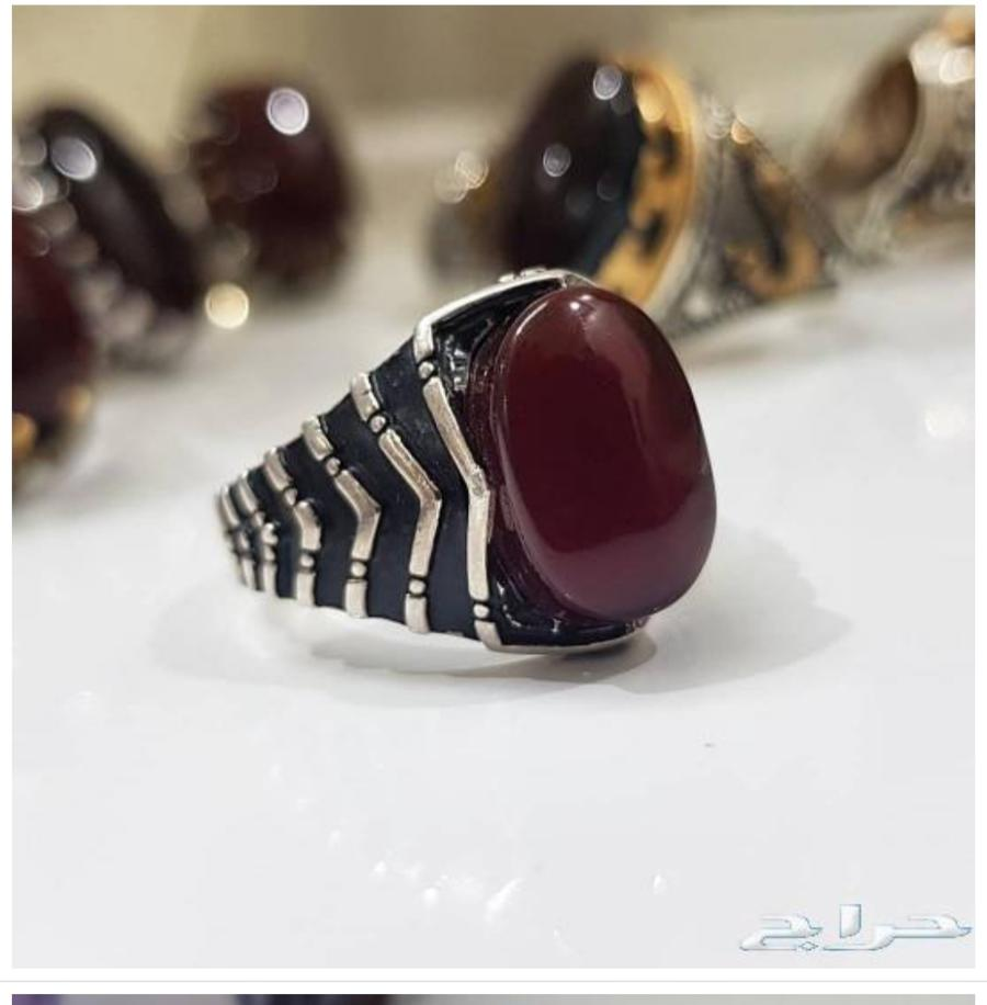 خواتم عقيق يمنيه ملكيه