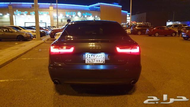 للبيع اودي A6 2015  ماشي 45200 فل